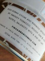 Cuban Tobacco & Oak Candle 3