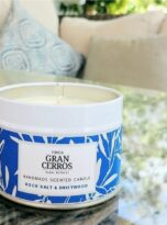 Rock Salt & Driftwood Scented Candle 3