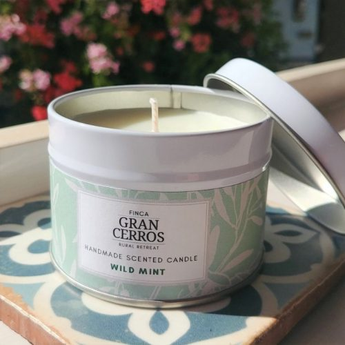 Wild Mint Candle 2